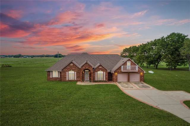 420 Living Springs Trail, Goldsby, OK 73093 (MLS #884737) :: Erhardt Group at Keller Williams Mulinix OKC