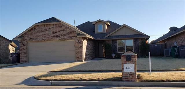 1408 SW 95th Court, Oklahoma City, OK 73159 (MLS #888470) :: KING Real Estate Group