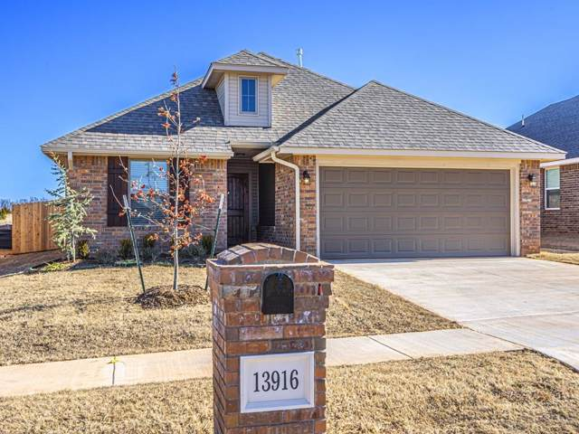 13916 Northwood Village Drive, Piedmont, OK 73078 (MLS #888695) :: Homestead & Co