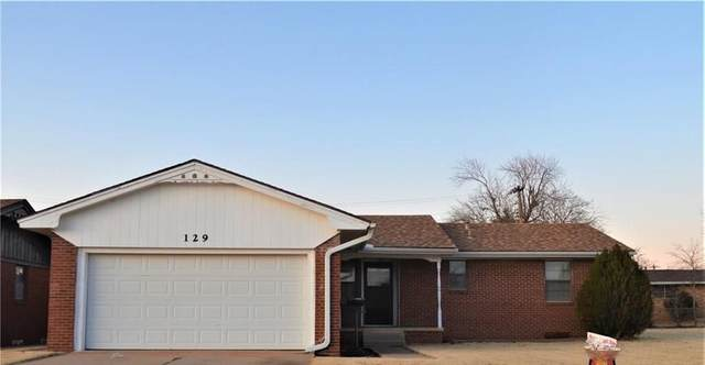 129 Florence Street, Cordell, OK 73632 (MLS #890371) :: Your H.O.M.E. Team
