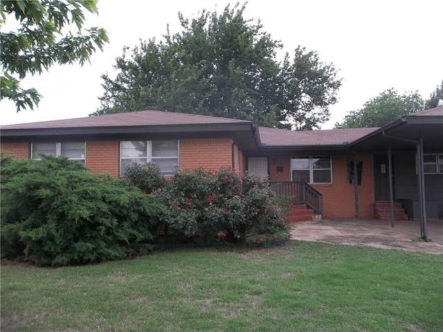 706 Vine Street, Altus, OK 73521 (MLS #890958) :: Erhardt Group at Keller Williams Mulinix OKC
