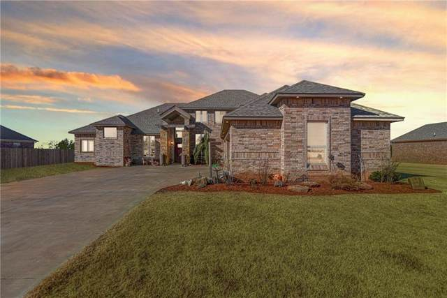 20897 Highlander Ridge Drive, Edmond, OK 73012 (MLS #891078) :: Homestead & Co