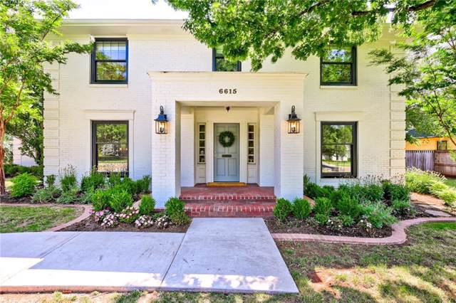 6615 Hillcrest Avenue, Nichols Hills, OK 73116 (MLS #891192) :: Homestead & Co