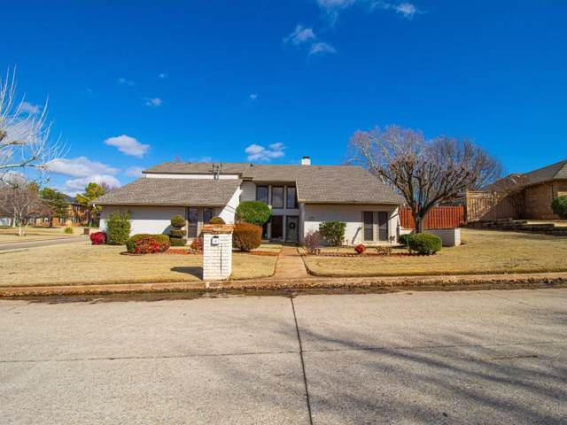 829 Glenridge Drive, Edmond, OK 73013 (MLS #893258) :: Homestead & Co