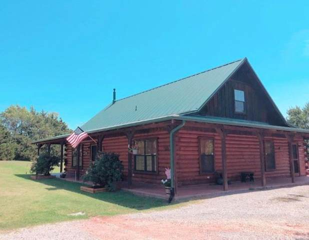 2127 County Road 1245 Road, Tuttle, OK 73089 (MLS #896140) :: Homestead & Co