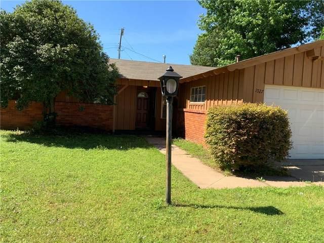 1527 W Mississippi Avenue, Chickasha, OK 73018 (MLS #896165) :: Homestead & Co