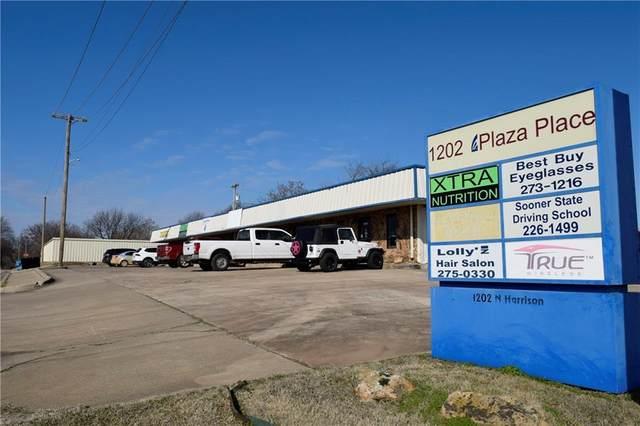 1202 N Harrison Street, Shawnee, OK 74801 (MLS #899621) :: Homestead & Co