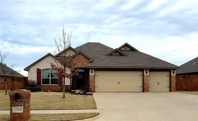 15208 Homecoming Drive, Edmond, OK 73013 (MLS #903413) :: Keri Gray Homes