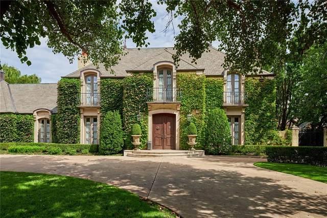 1609 Guilford Lane, Nichols Hills, OK 73120 (MLS #904114) :: Homestead & Co
