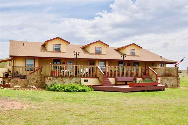 21466 E 1020 Road, Foss, OK 73647 (MLS #905289) :: Homestead & Co