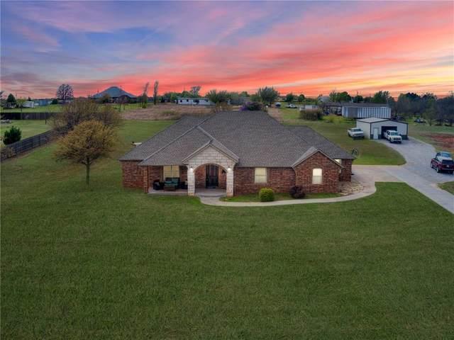 1016 Lake Front Drive, Blanchard, OK 73010 (MLS #906572) :: Homestead & Co