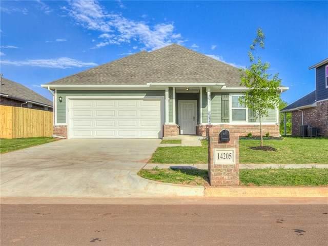 14205 Athens Lane, Yukon, OK 73099 (MLS #908835) :: Keri Gray Homes