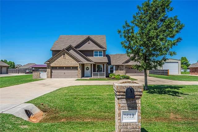 1619 Bayside Drive, Tuttle, OK 73089 (MLS #911553) :: Keri Gray Homes