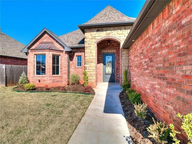 16109 Pointe Manor Lane, Edmond, OK 73013 (MLS #912037) :: Homestead & Co