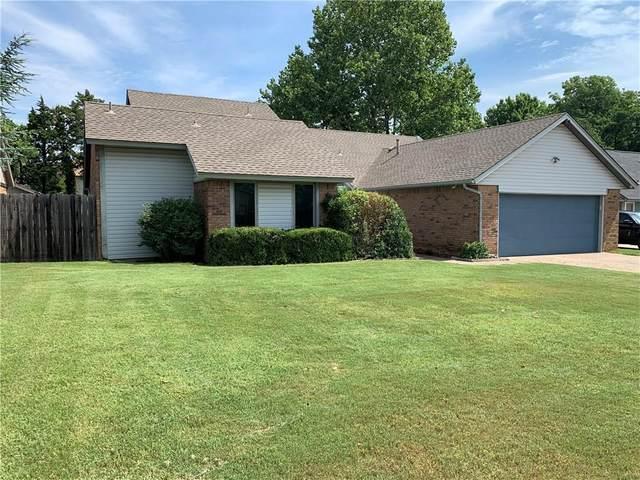9105 Oakwood Drive, Midwest City, OK 73130 (MLS #916891) :: Homestead & Co