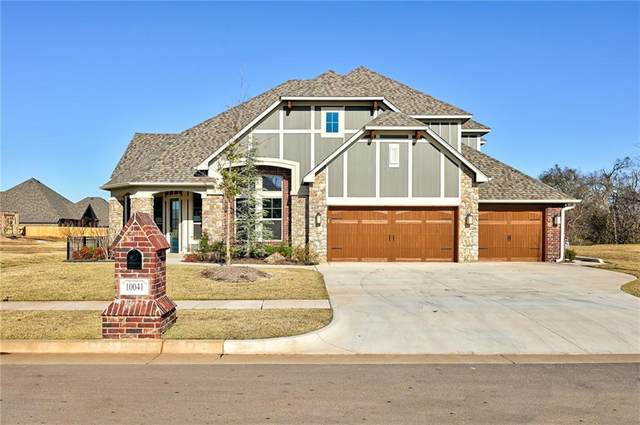 10041 SW 27th Street, Oklahoma City, OK 73099 (MLS #917430) :: Homestead & Co