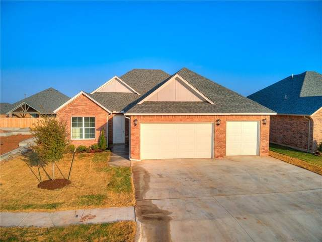 16704 Aragon Lane, Oklahoma City, OK 73170 (MLS #917786) :: Homestead & Co