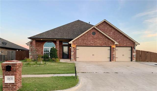 10630 SE 26th Street, Midwest City, OK 73130 (MLS #918771) :: Erhardt Group at Keller Williams Mulinix OKC