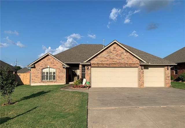 1610 Mill Creek Boulevard, Choctaw, OK 73020 (MLS #919221) :: Homestead & Co