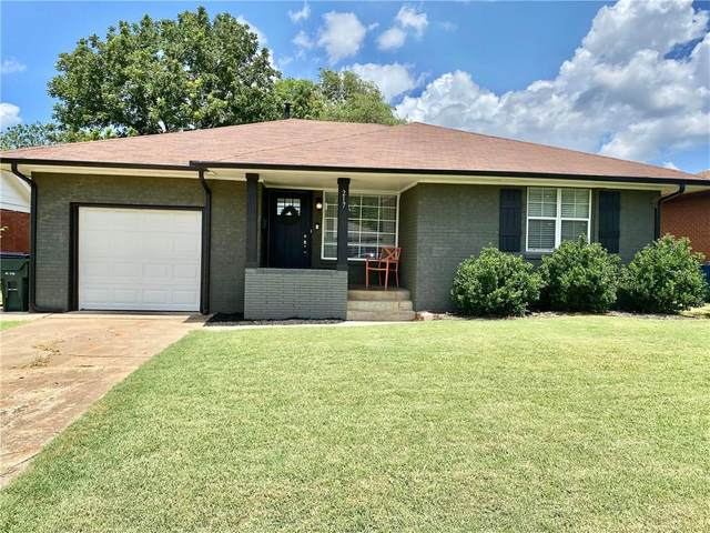 217 W Rose Drive, Midwest City, OK 73110 (MLS #919316) :: Homestead & Co