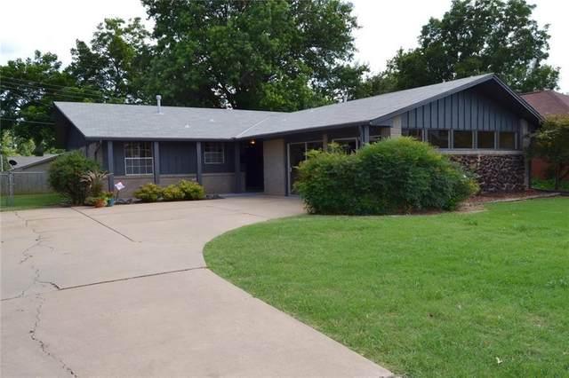1424 NW 105th Street, Oklahoma City, OK 73114 (MLS #920959) :: Erhardt Group at Keller Williams Mulinix OKC