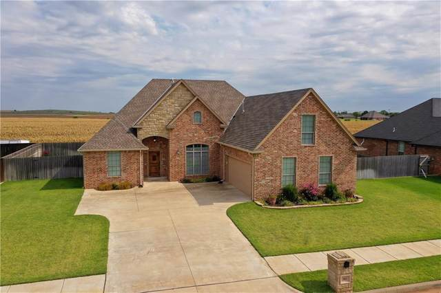 901 Cornerstone, Weatherford, OK 73096 (MLS #921752) :: Keri Gray Homes