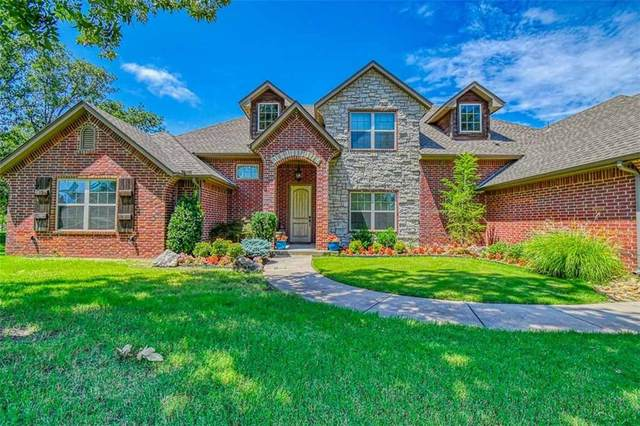 5901 Montford Way, Choctaw, OK 73020 (MLS #923886) :: Homestead & Co