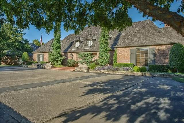 6621 Hillcrest Avenue, Nichols Hills, OK 73116 (MLS #924109) :: Homestead & Co