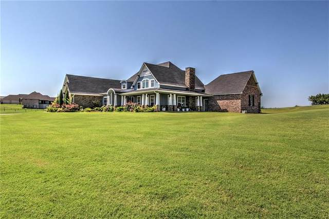 1601 High Ridge Drive, Blanchard, OK 73010 (MLS #924236) :: Homestead & Co