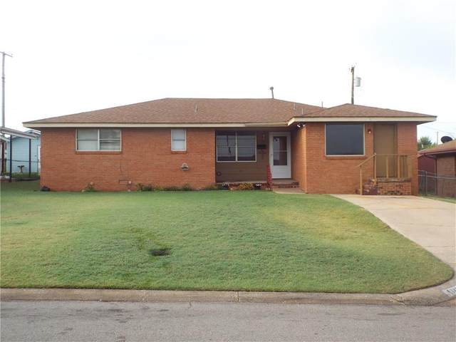 1132 Blackstone Avenue, Clinton, OK 73601 (MLS #924430) :: Erhardt Group at Keller Williams Mulinix OKC
