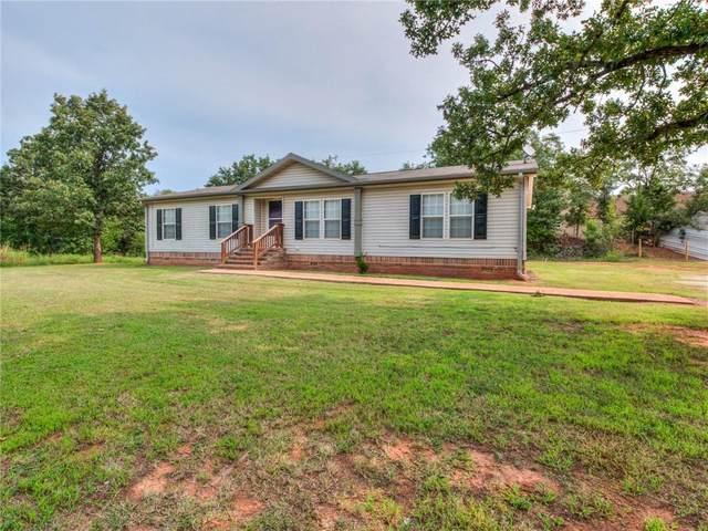 333120 E Shady Meadows Drive, Wellston, OK 74881 (MLS #927364) :: Keri Gray Homes