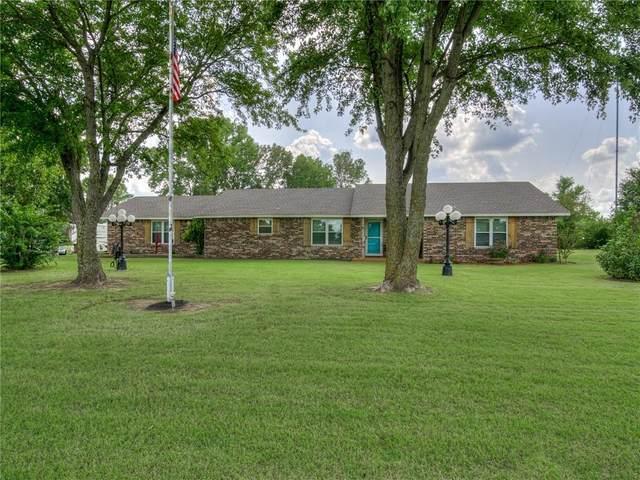 5406 E Tyler Drive, Tuttle, OK 73089 (MLS #927880) :: Keri Gray Homes