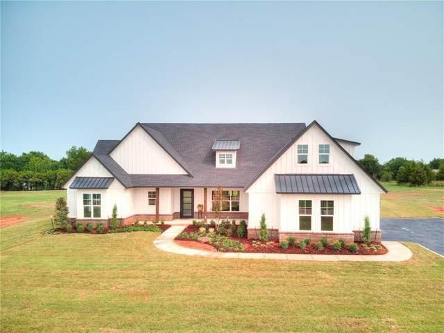 331 Old Farm Road, Edmond, OK 73034 (MLS #927931) :: Homestead & Co