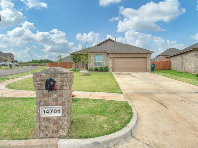 14701 Rambling Creek Circle, Oklahoma City, OK 73142 (MLS #927990) :: Homestead & Co