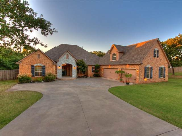 5421 Panther Cove, Newalla, OK 74857 (MLS #928153) :: ClearPoint Realty