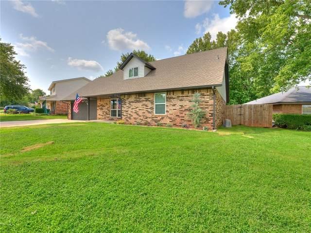 8813 Aaron Drive, Oklahoma City, OK 73132 (MLS #928725) :: Erhardt Group at Keller Williams Mulinix OKC