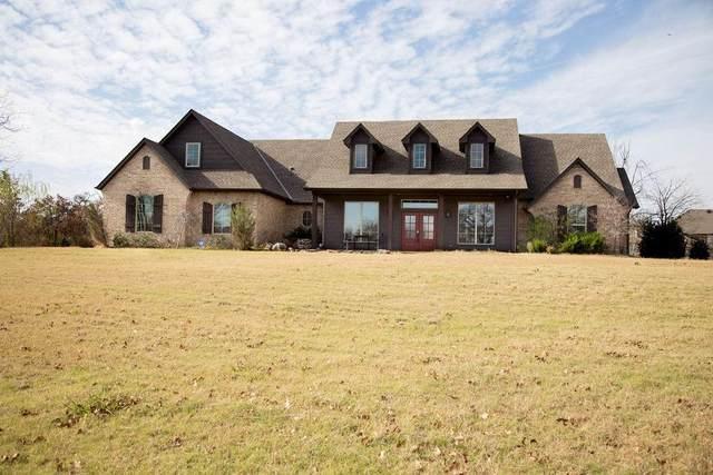 431 Hickory Hill Drive, Choctaw, OK 73020 (MLS #932345) :: Erhardt Group at Keller Williams Mulinix OKC