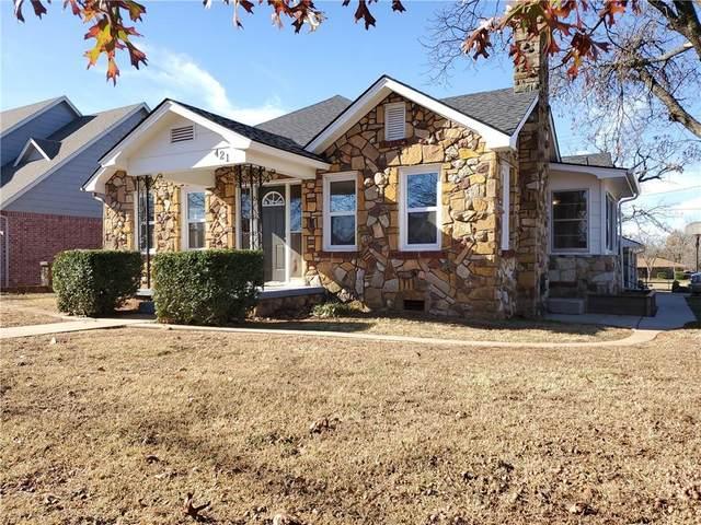 421 N Main, Blanchard, OK 73010 (MLS #933562) :: Homestead & Co
