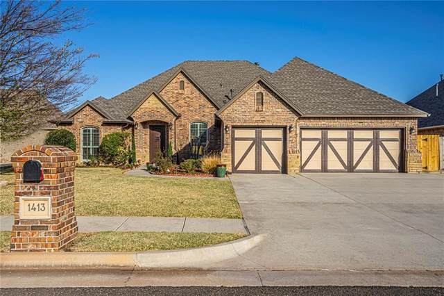 1413 NW 175 Court, Edmond, OK 73012 (MLS #933805) :: Homestead & Co