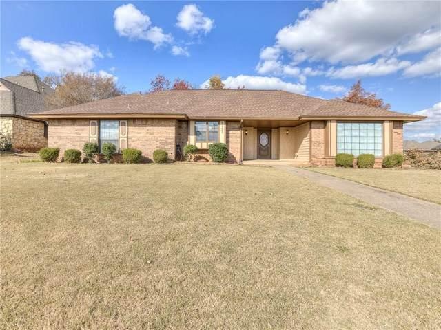 9121 Oakwood Drive, Midwest City, OK 73130 (MLS #934586) :: Homestead & Co