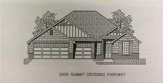 2809 Summit Crossing Parkway, Norman, OK 73071 (MLS #934817) :: The UB Home Team at Whittington Realty