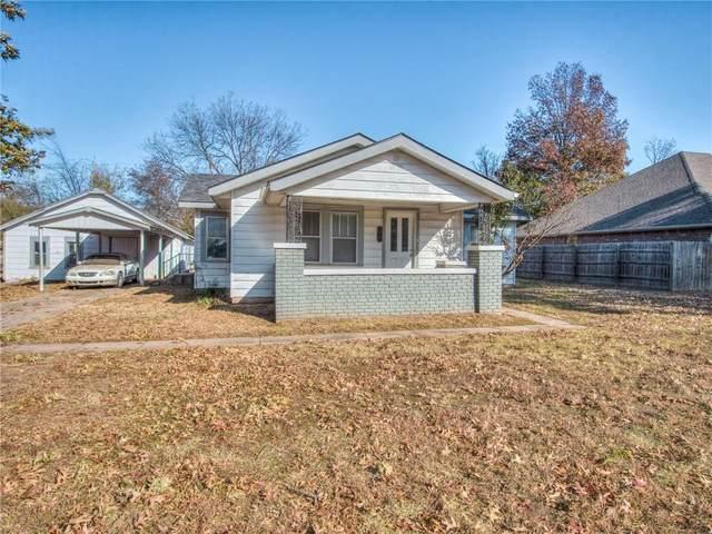 803 W Highland Street, Tecumseh, OK 74873 (MLS #935160) :: Homestead & Co