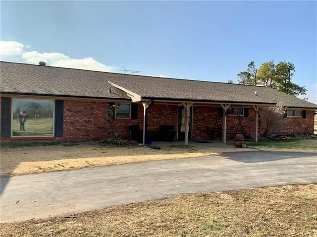 1311 County Road 1390, Chickasha, OK 73018 (MLS #938860) :: Homestead & Co