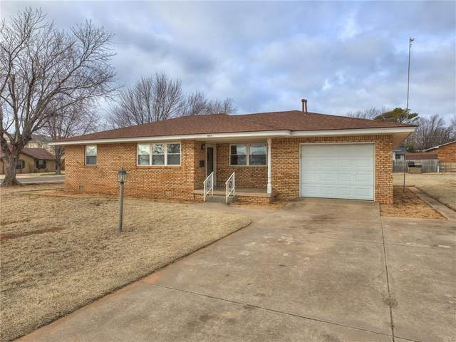 405 N Nevada Street, Weatherford, OK 73096 (MLS #939582) :: ClearPoint Realty