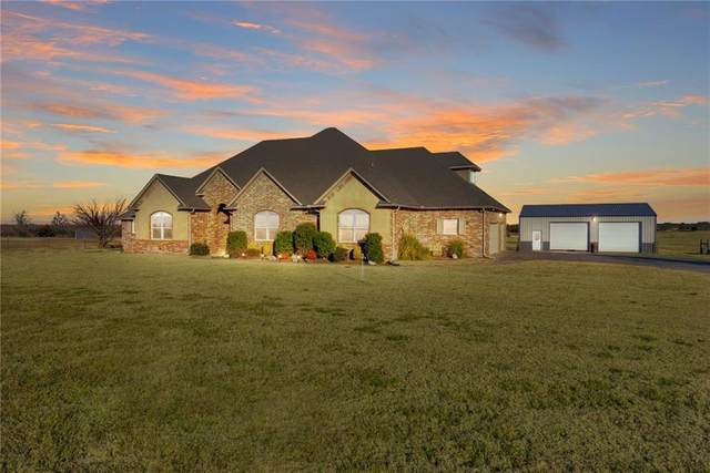 3200 S Richland Road, Yukon, OK 73099 (MLS #941508) :: Homestead & Co