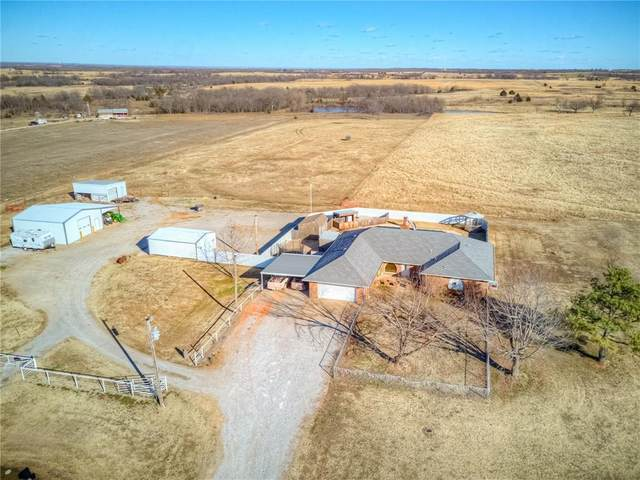 21441 Highway 74, Elmore City, OK 73433 (MLS #941587) :: The UB Home Team at Whittington Realty