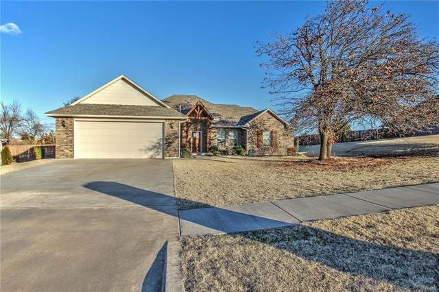 1812 Olivia Court, Blanchard, OK 73010 (MLS #942381) :: Homestead & Co