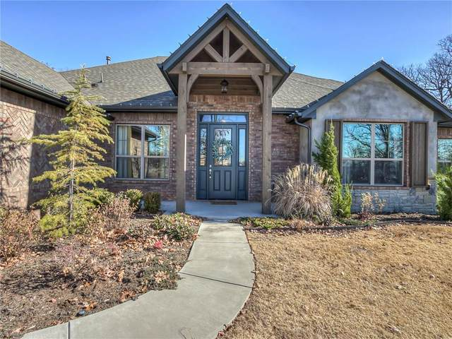 5736 Asheville Way, Choctaw, OK 73020 (MLS #945710) :: The UB Home Team at Whittington Realty