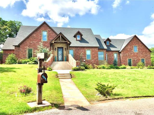 6891 Valley Ridge Drive, Edmond, OK 73034 (MLS #947062) :: Homestead & Co
