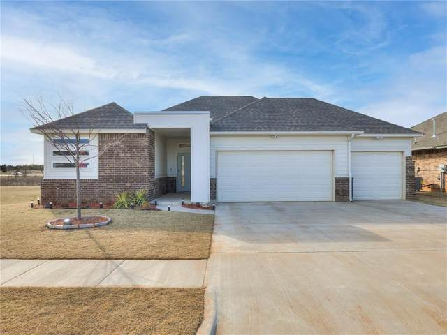 1921 Sara Vista Drive, Yukon, OK 73099 (MLS #947359) :: The UB Home Team at Whittington Realty